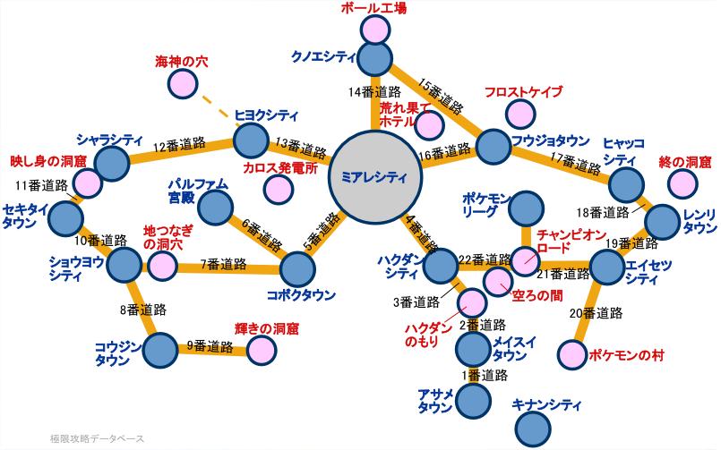 ポケモンXY攻略マップ | ポケモンXY攻略